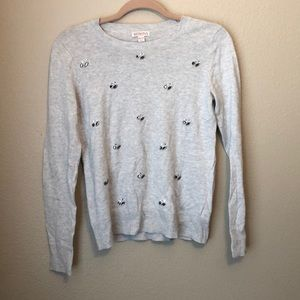 XS Target-Merona sweater with sparkly jewels.